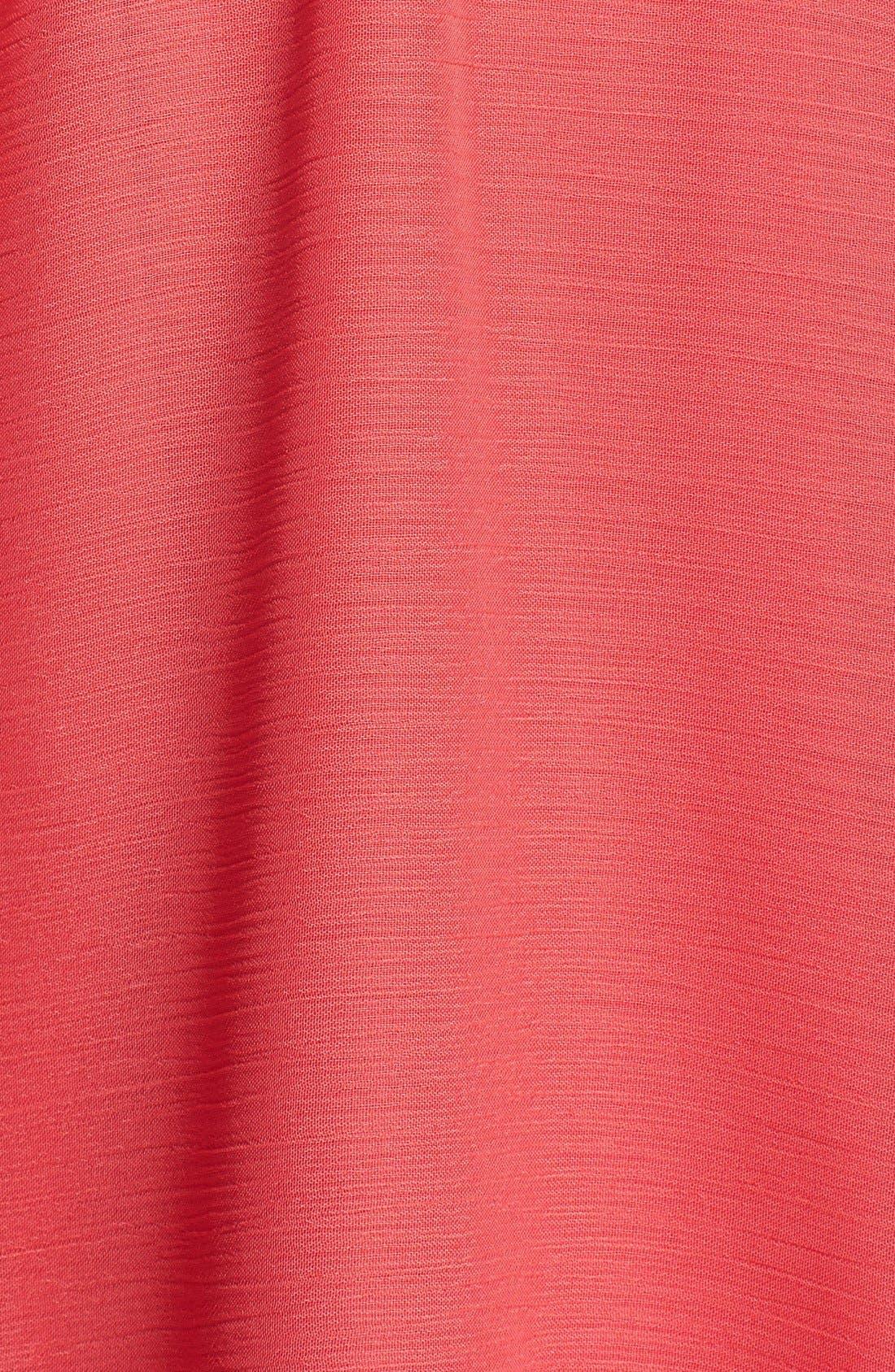 Alternate Image 3  - Isaac Mizrahi New York Belted Chiffon Halter Dress