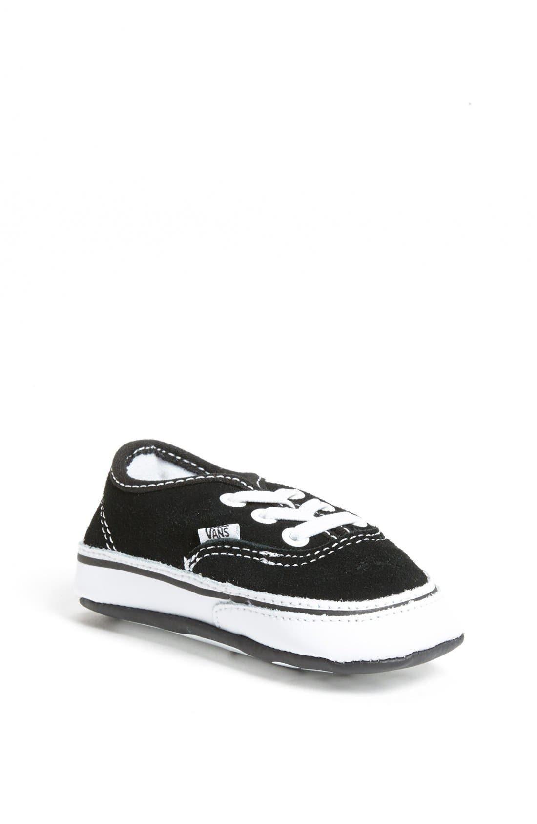 Alternate Image 1 Selected - Vans 'Authentic' Crib Shoe (Baby)