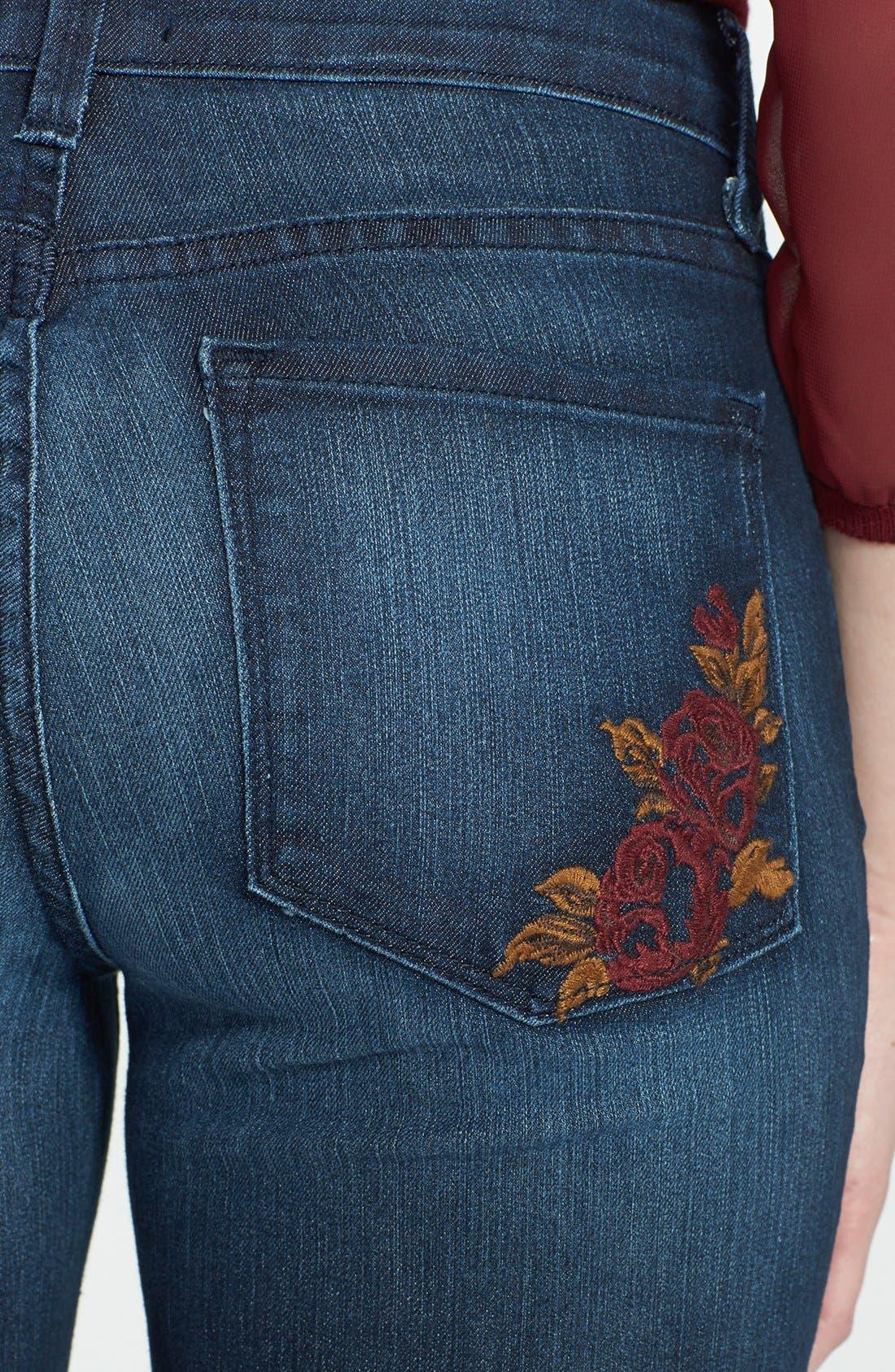 Alternate Image 3  - NYDJ 'Marilyn' Stretch Straight Leg Jeans (Dana Point)