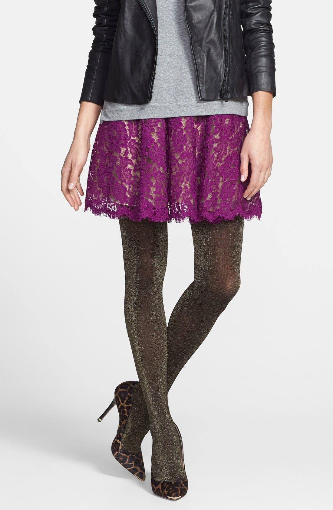 Alternate Image 1 Selected - Nordstrom 'Bewitched Sparkle' Tights