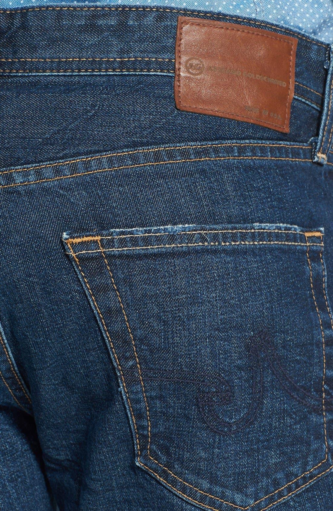 Alternate Image 4  - AG 'Protégé' Straight Leg Jeans (Five Year Field)