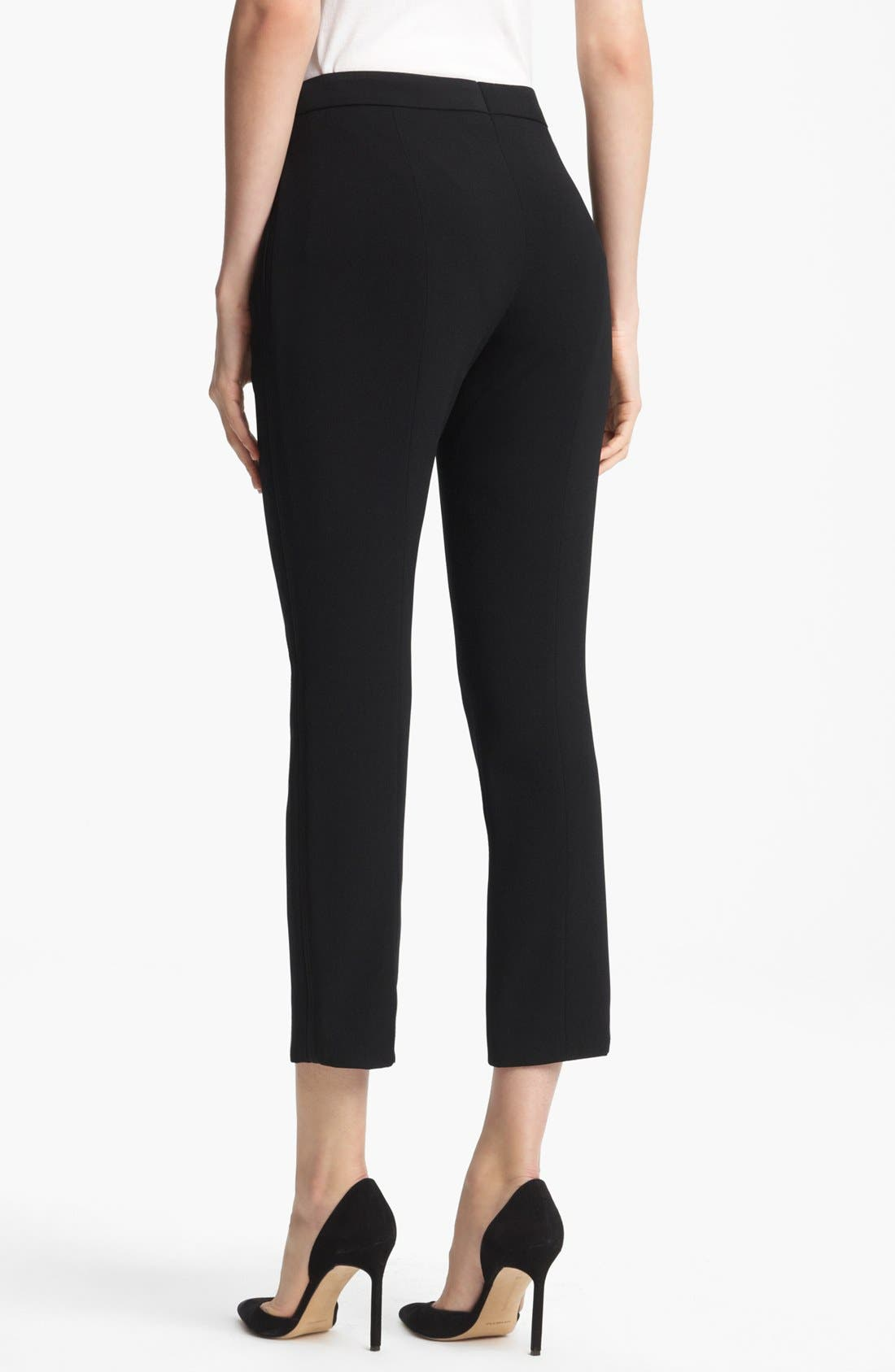 Alternate Image 2  - ESCADA Slim Crop Pants