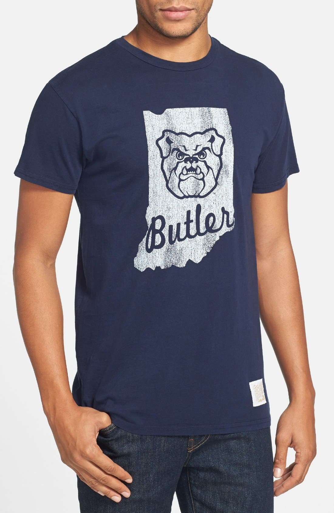 Alternate Image 1 Selected - Retro Brand 'Butler Bulldogs' Team T-Shirt