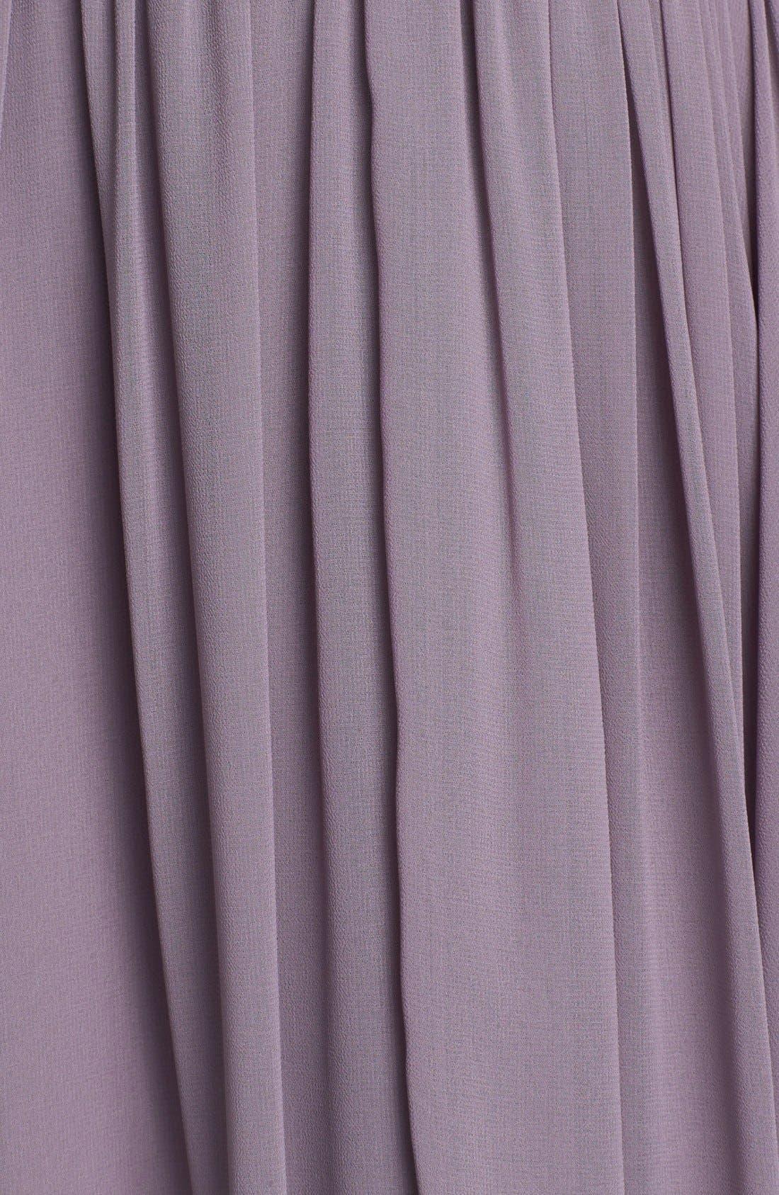 Alternate Image 3  - Donna Morgan 'Lily' Draped Chiffon Dress