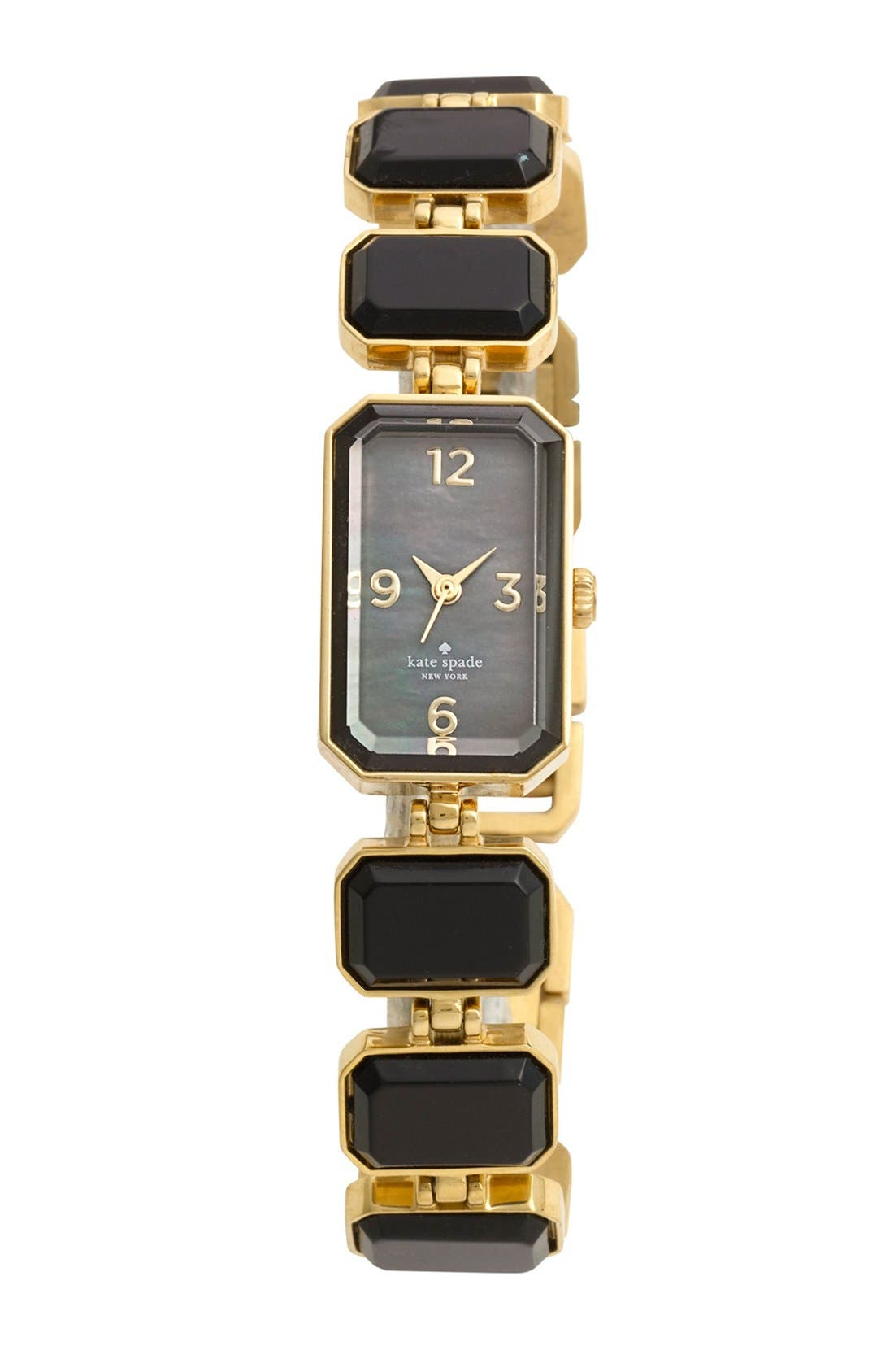 Main Image - kate spade new york 'wythe' crystal bracelet watch, 10mm x 25mm