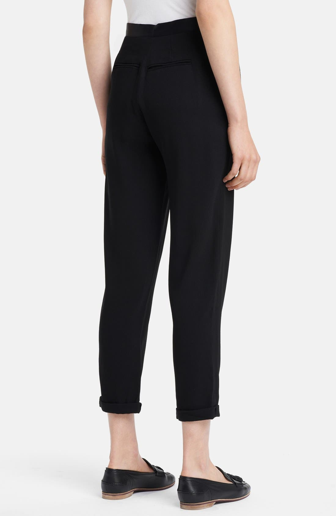 Alternate Image 2  - Band of Outsiders 'Amie' Cady Crop Pants
