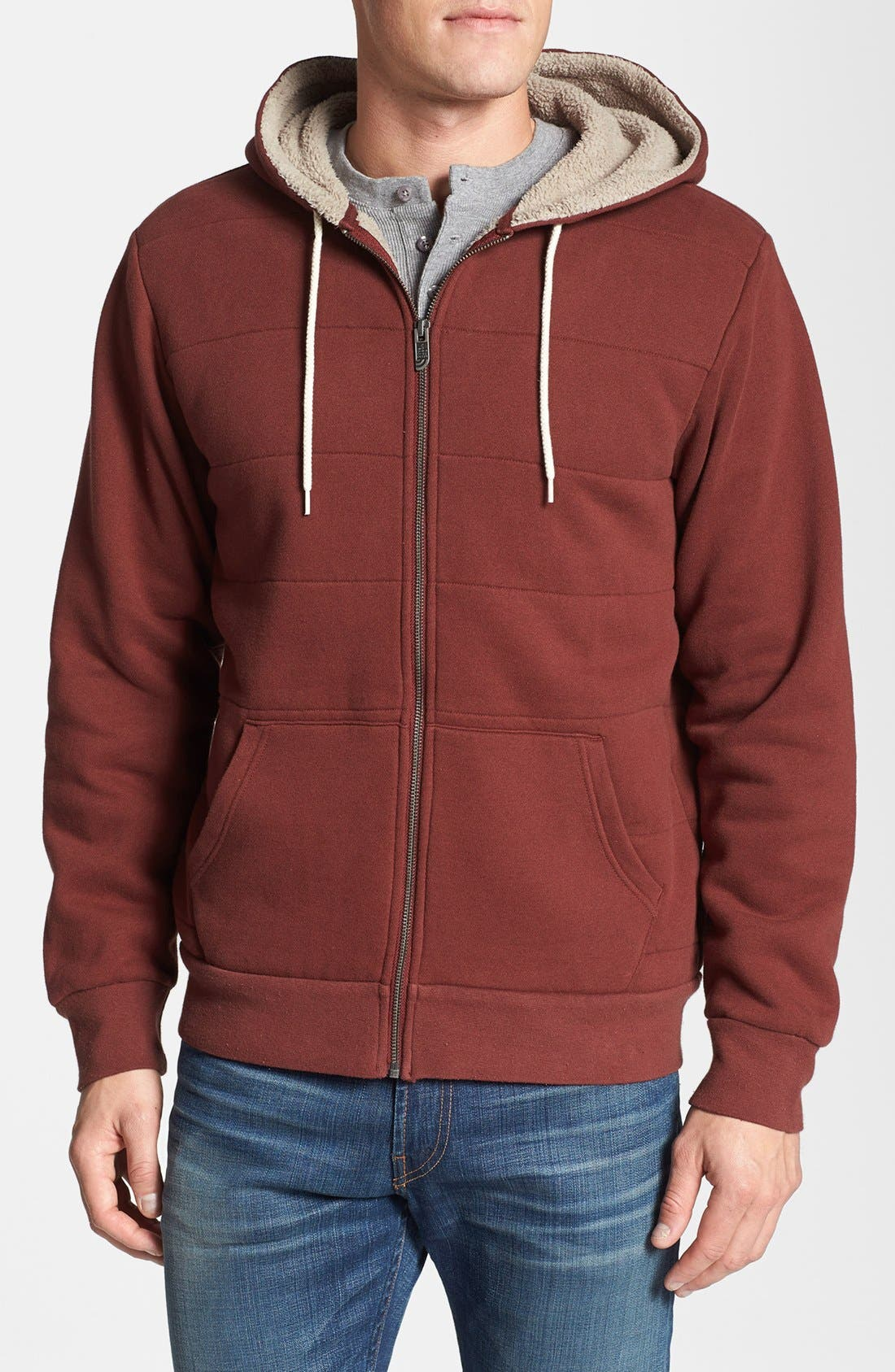 Alternate Image 1 Selected - The North Face 'Wadkins' Garment Washed Hoodie