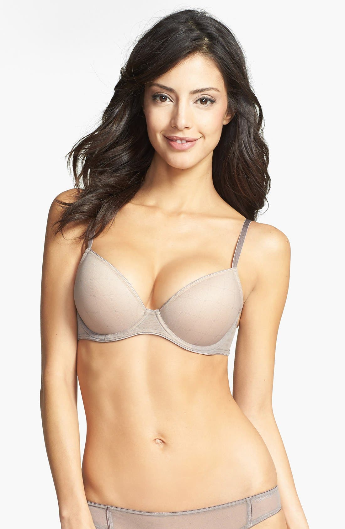 Alternate Image 1 Selected - Calvin Klein 'Customized Lift Illusion' Underwire Bra
