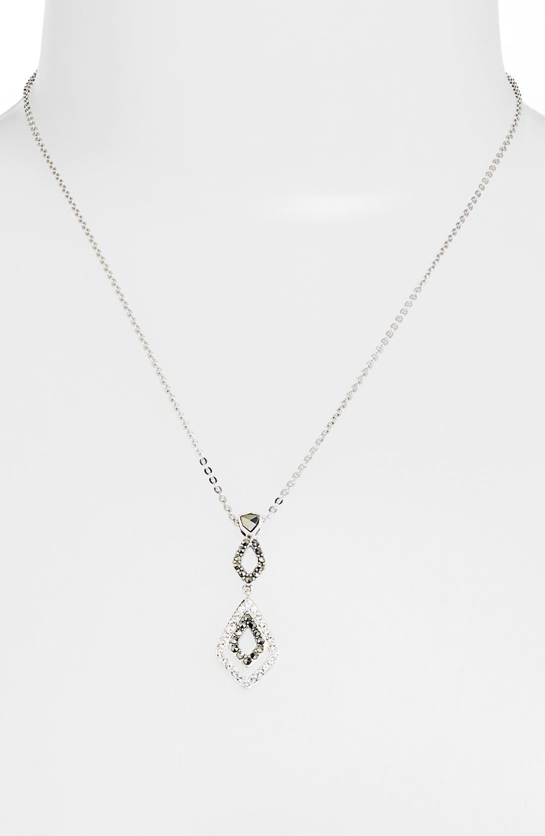 Alternate Image 1 Selected - Judith Jack 'Elegante Envy' Pendant Necklace