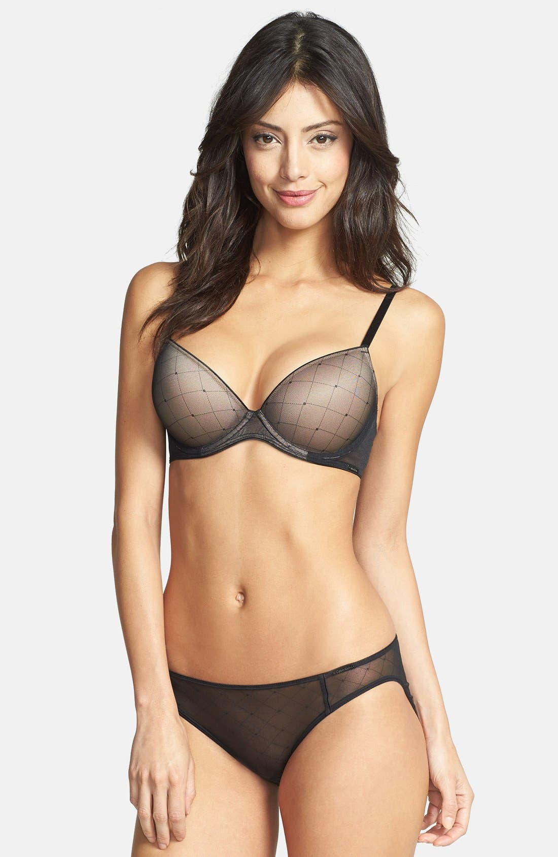Alternate Image 3  - Calvin Klein 'Customized Lift Illusion' Underwire Bra