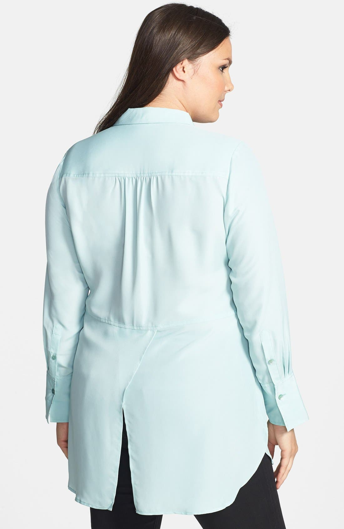 Alternate Image 2  - NIC+ZOE 'Cool Mist' Shirt (Plus Size)