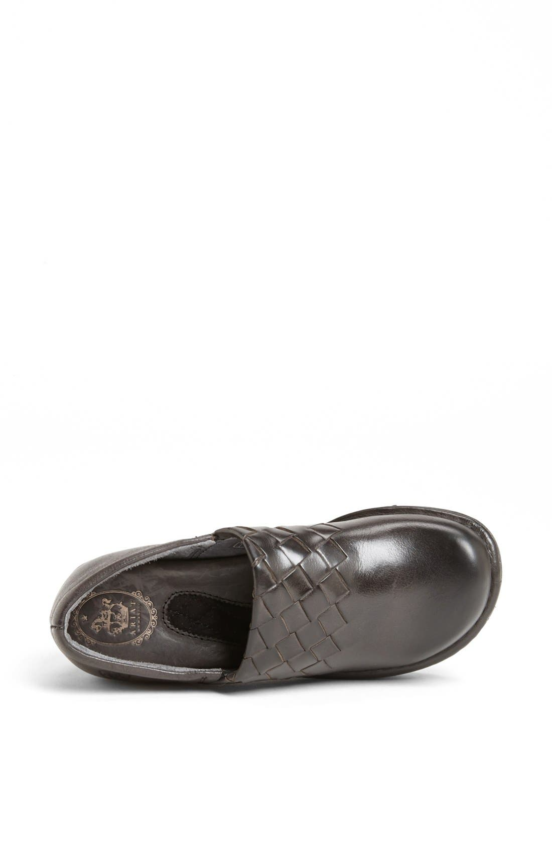 Alternate Image 3  - Ariat 'Ashbourne' Woven Leather Clog