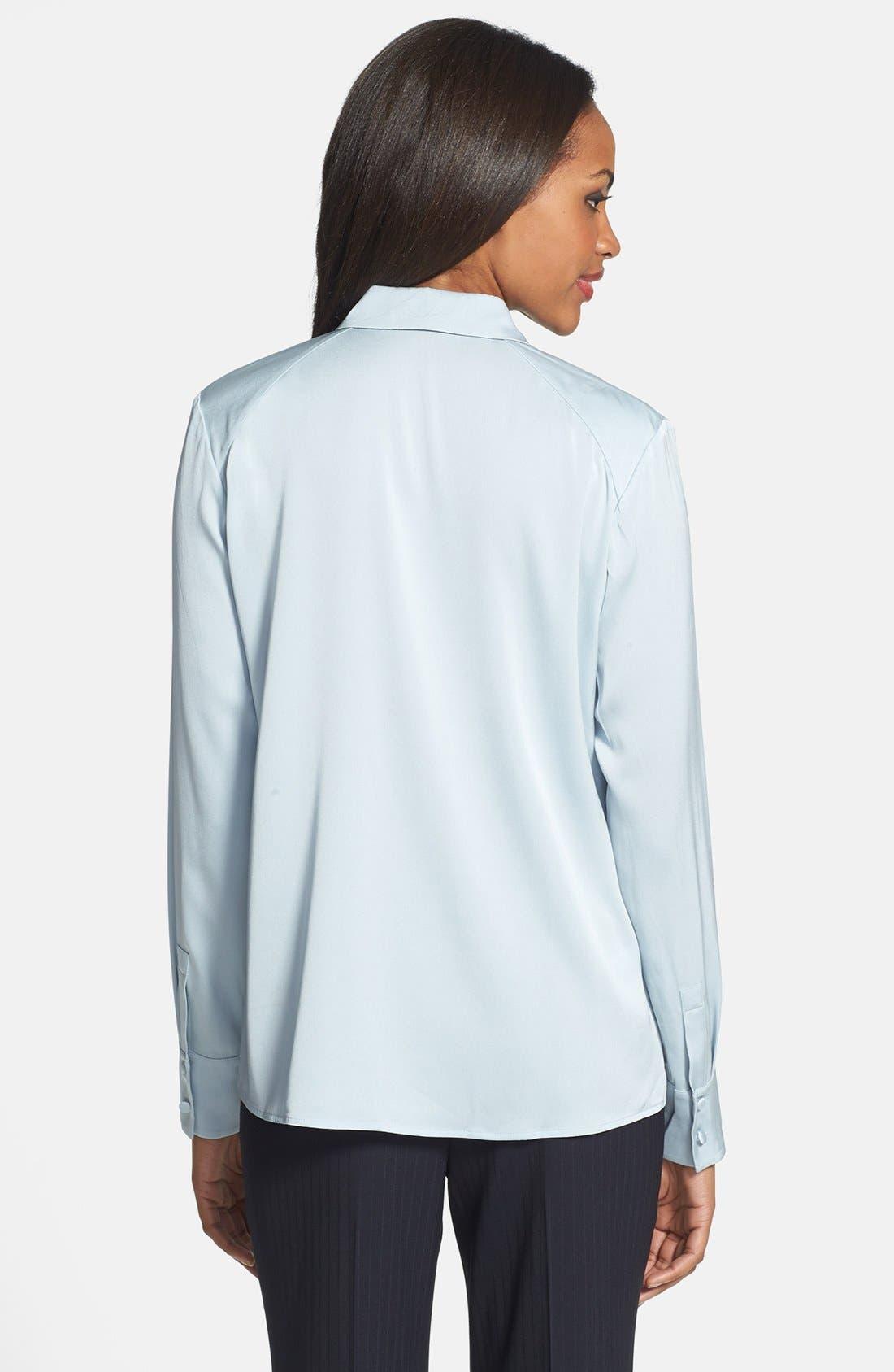 Alternate Image 2  - BOSS HUGO BOSS 'Bivella' Stretch Silk Shirt