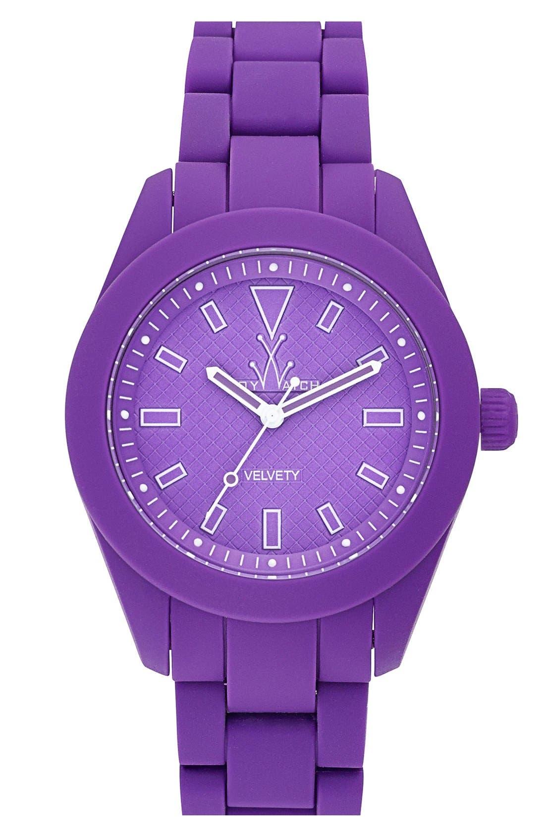 Alternate Image 1 Selected - TOYWATCH 'Velvety' Bracelet Watch, 41mm