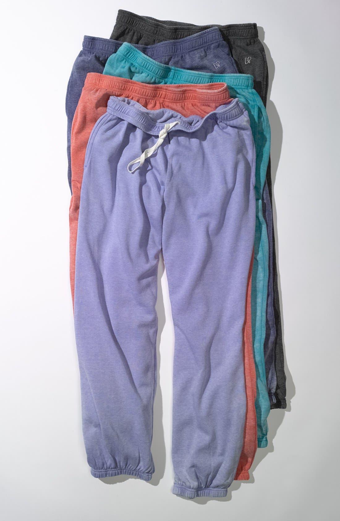 Alternate Image 4  - BP. Undercover 'Gym Class' Sweatpants (Juniors)