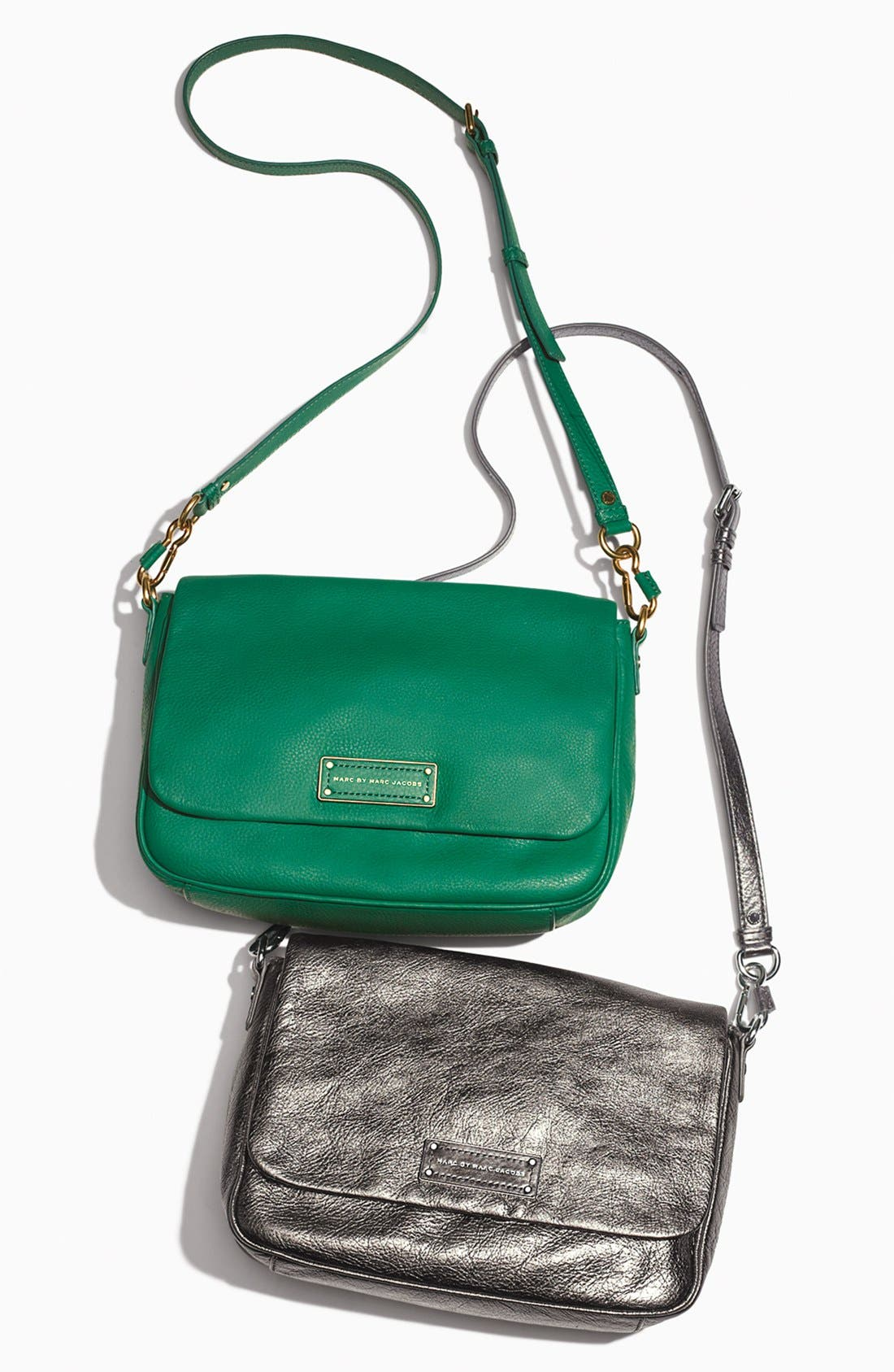 Alternate Image 5  - MARC BY MARC JACOBS 'Too Hot to Handle' Metallic Leather Crossbody Bag
