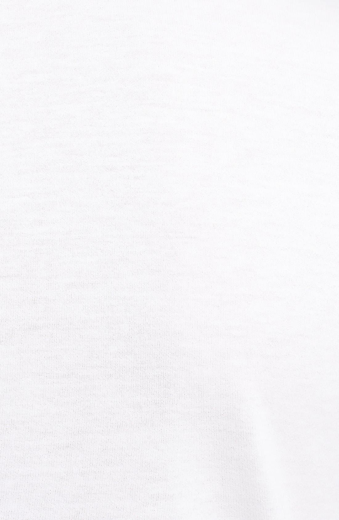 Alternate Image 3  - Lanvin 'Iridescent Logo' Crewneck T-Shirt