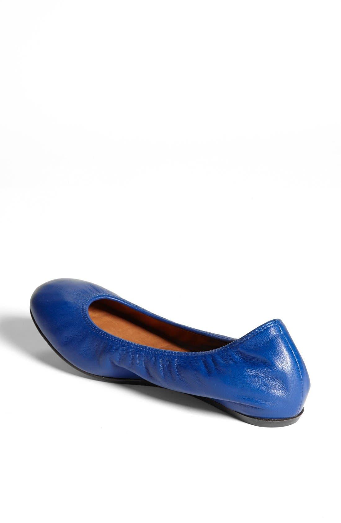 Alternate Image 2  - Lanvin Leather Ballerina Flat