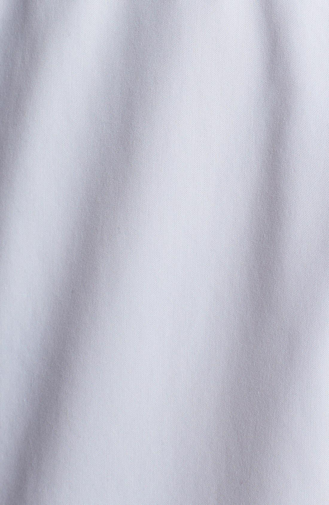 Alternate Image 3  - Foxcroft Shaped Non-Iron Cotton Shirt (Plus)