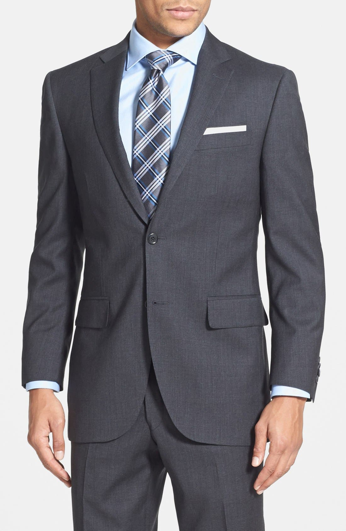 Alternate Image 3  - Peter Millar Classic Fit Wool Suit