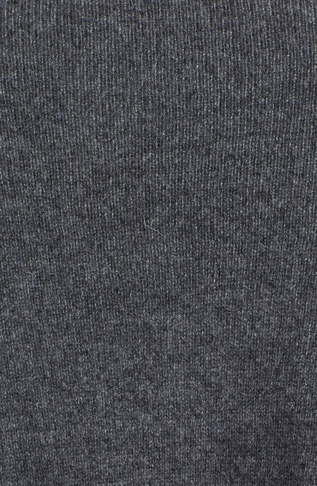 Alternate Image 3  - Halogen® Shark Bite Hem Wool & Cashmere Sweater