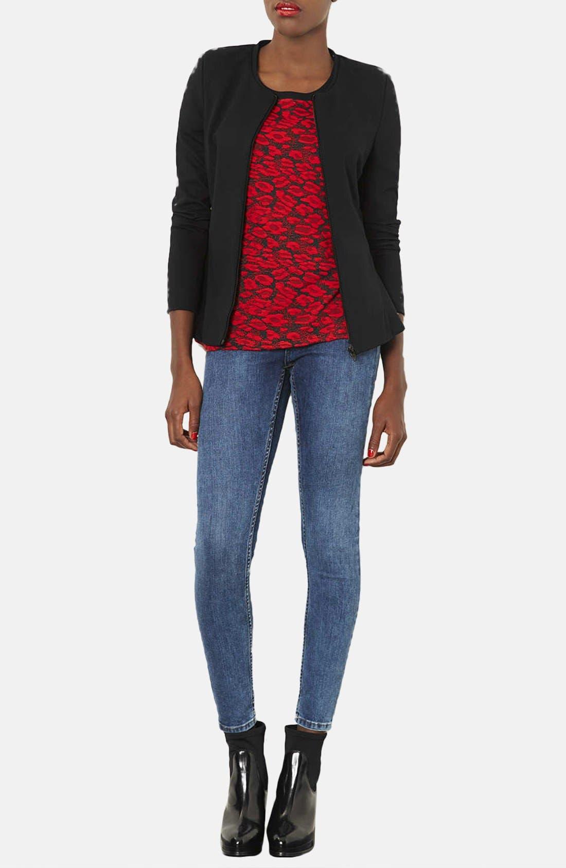 Alternate Image 4  - Topshop 'Nicole' Tailored Peplum Jacket