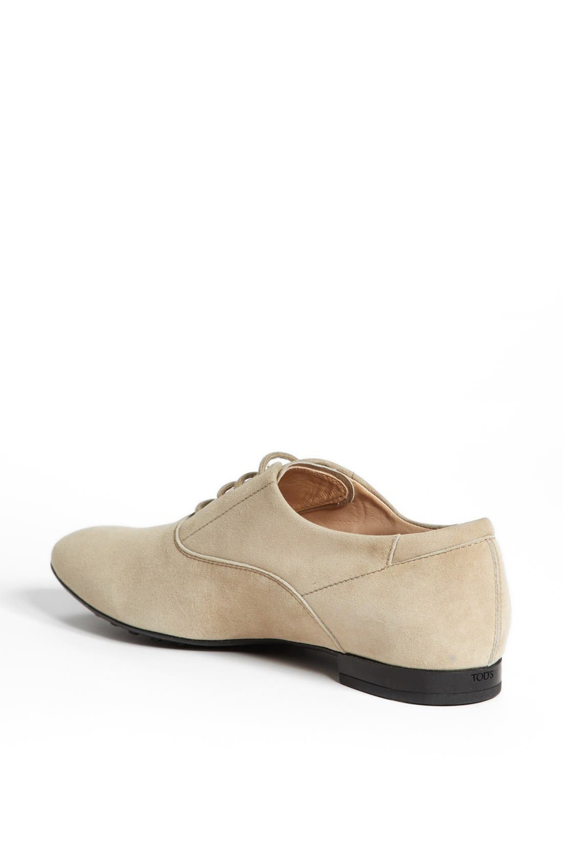 Alternate Image 2  - Tod's Suede Oxford