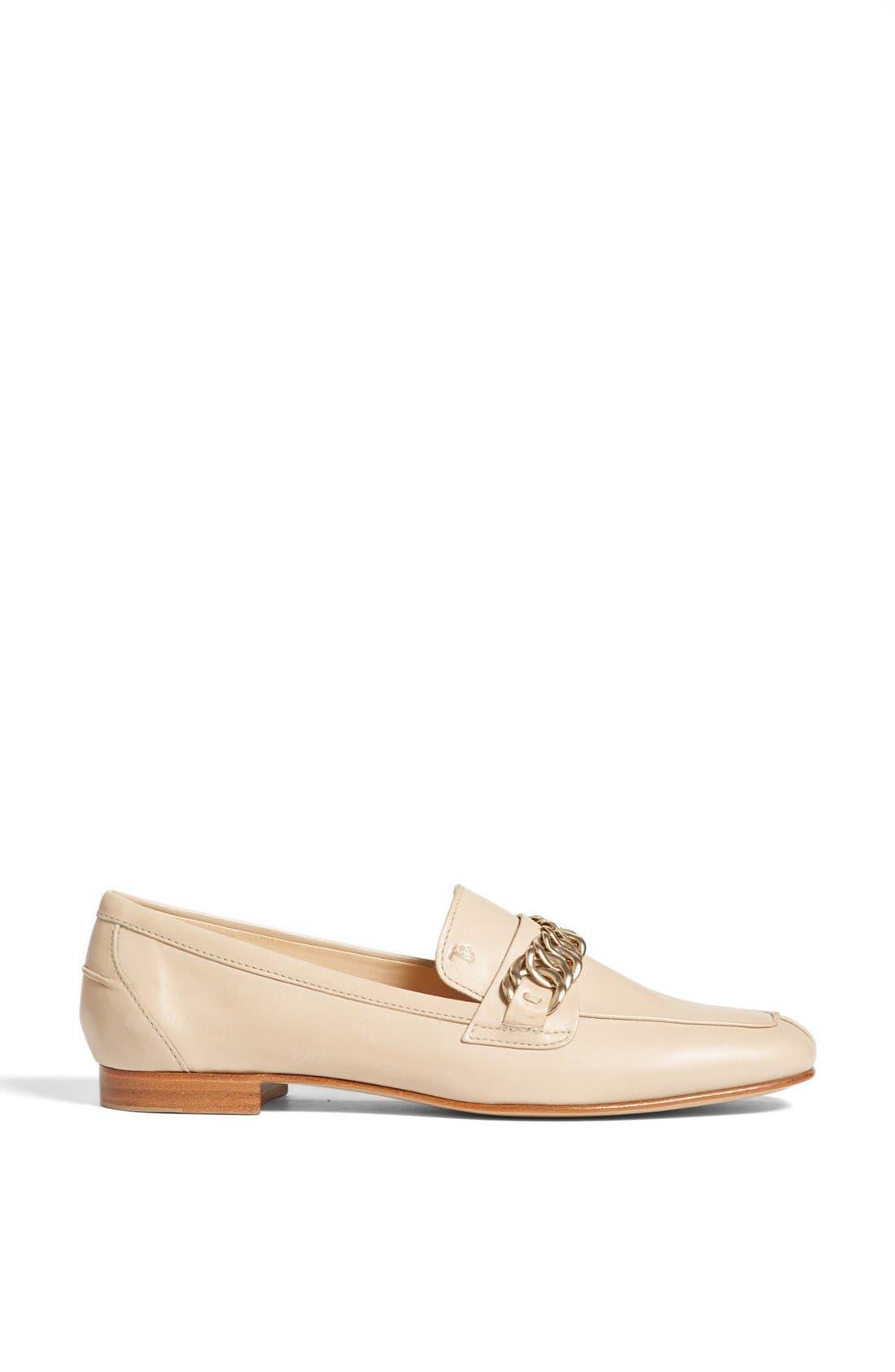 Alternate Image 4  - Tod's Leather Moccasin Loafer