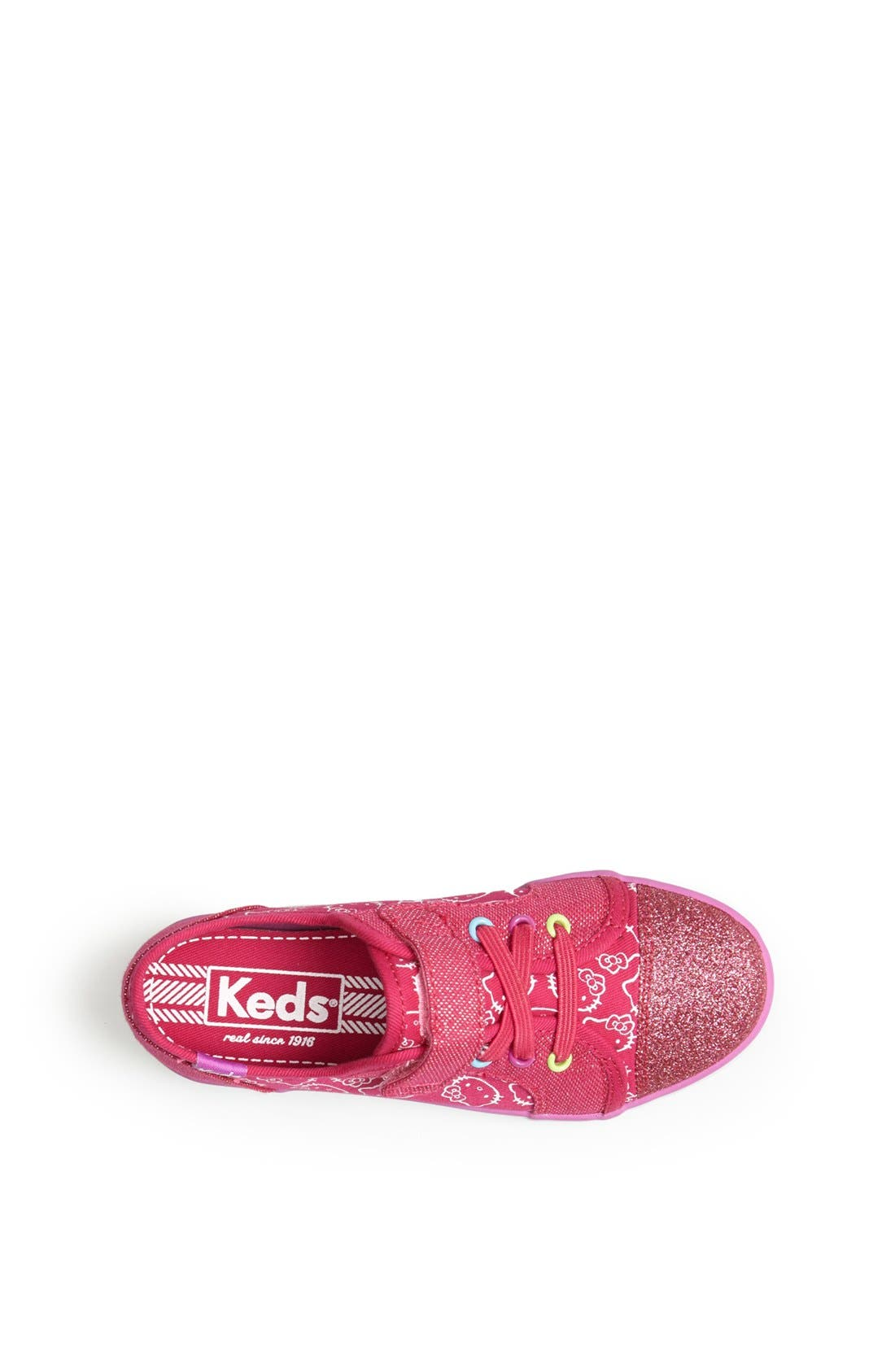Alternate Image 3  - Keds® 'Champion - Hello Kitty®' Sneaker (Baby, Walker & Toddler)