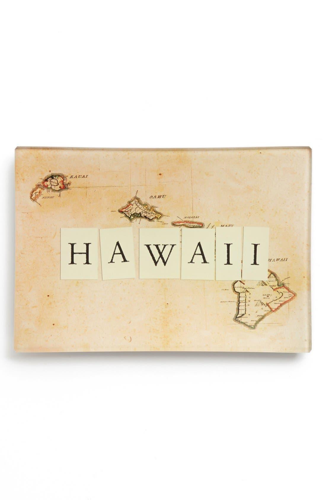 Alternate Image 1 Selected - Ben's Garden 'Hawaii Map' Tray