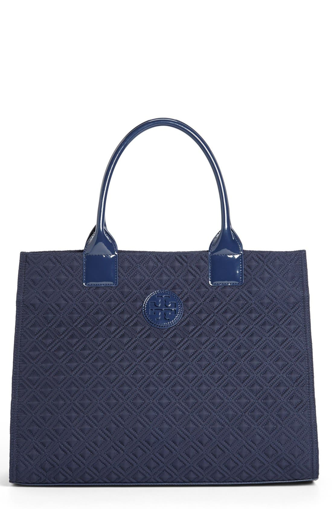 Alternate Image 1 Selected - Tory Burch 'Ella' Quilted Tote, Extra Large