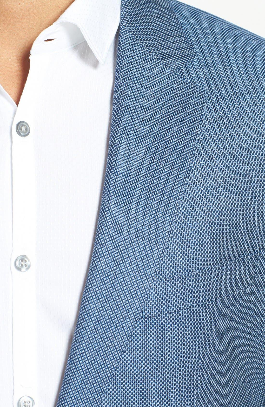 Alternate Image 3  - BOSS HUGO BOSS 'James' Trim Fit Wool Blazer