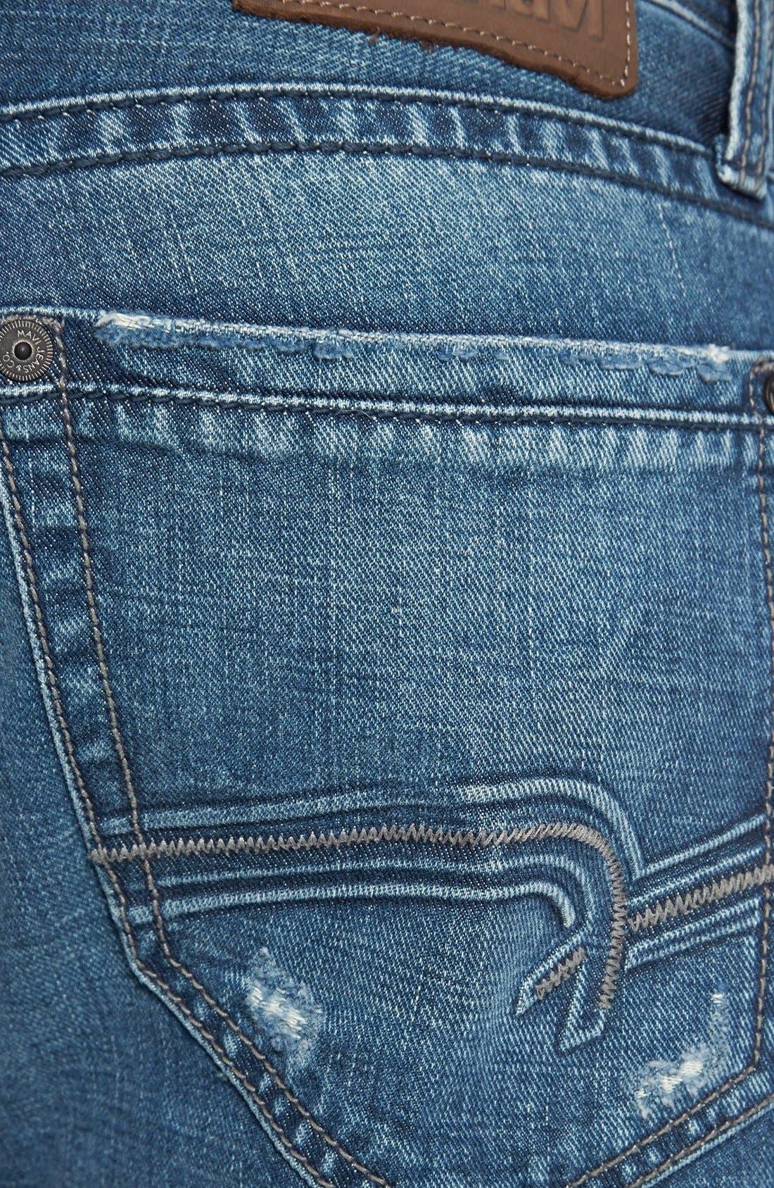 Alternate Image 4  - Mavi Jeans 'Josh' Bootcut Jeans (Indigo Cashmere)