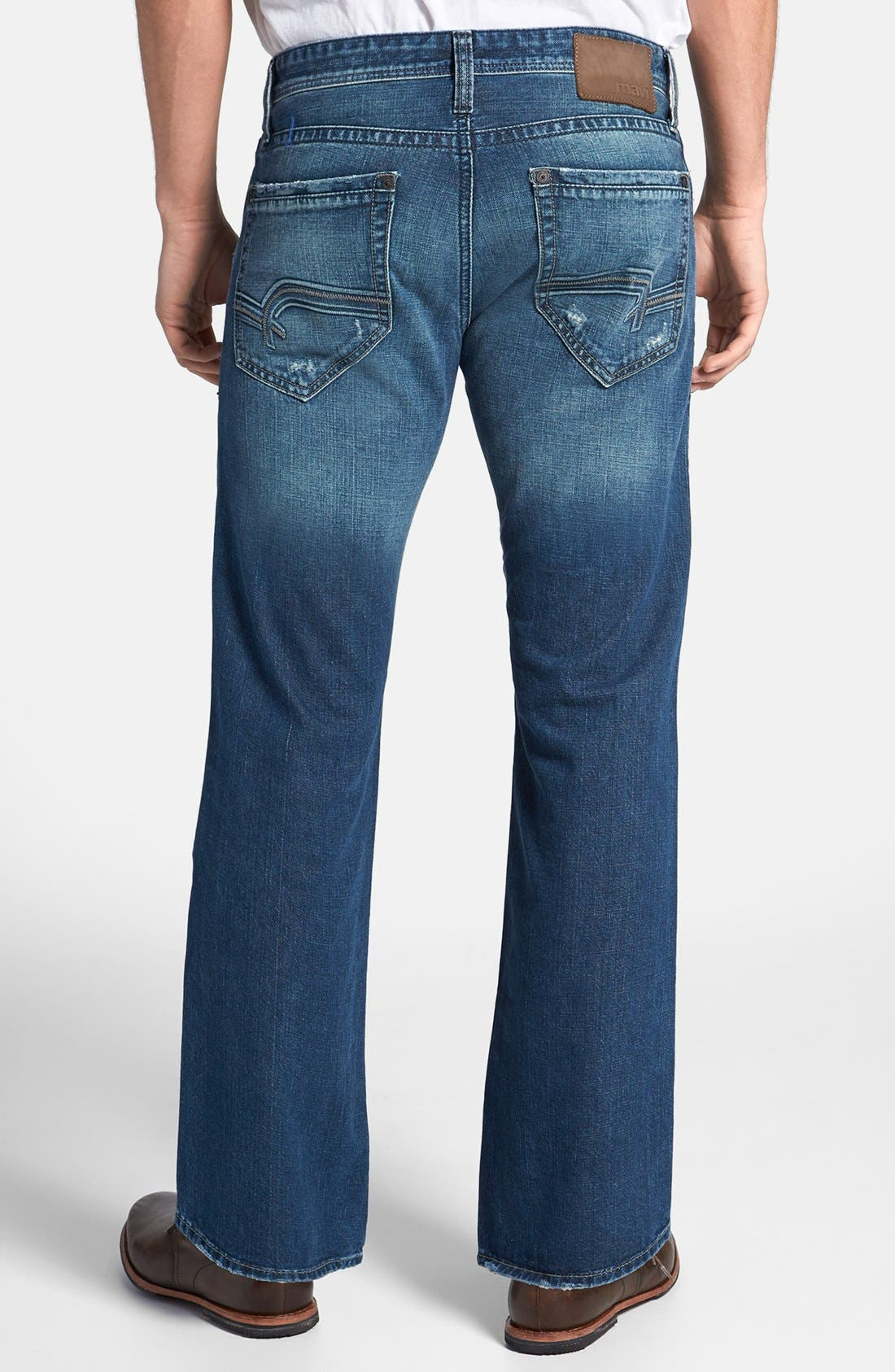 Alternate Image 2  - Mavi Jeans 'Josh' Bootcut Jeans (Indigo Cashmere)