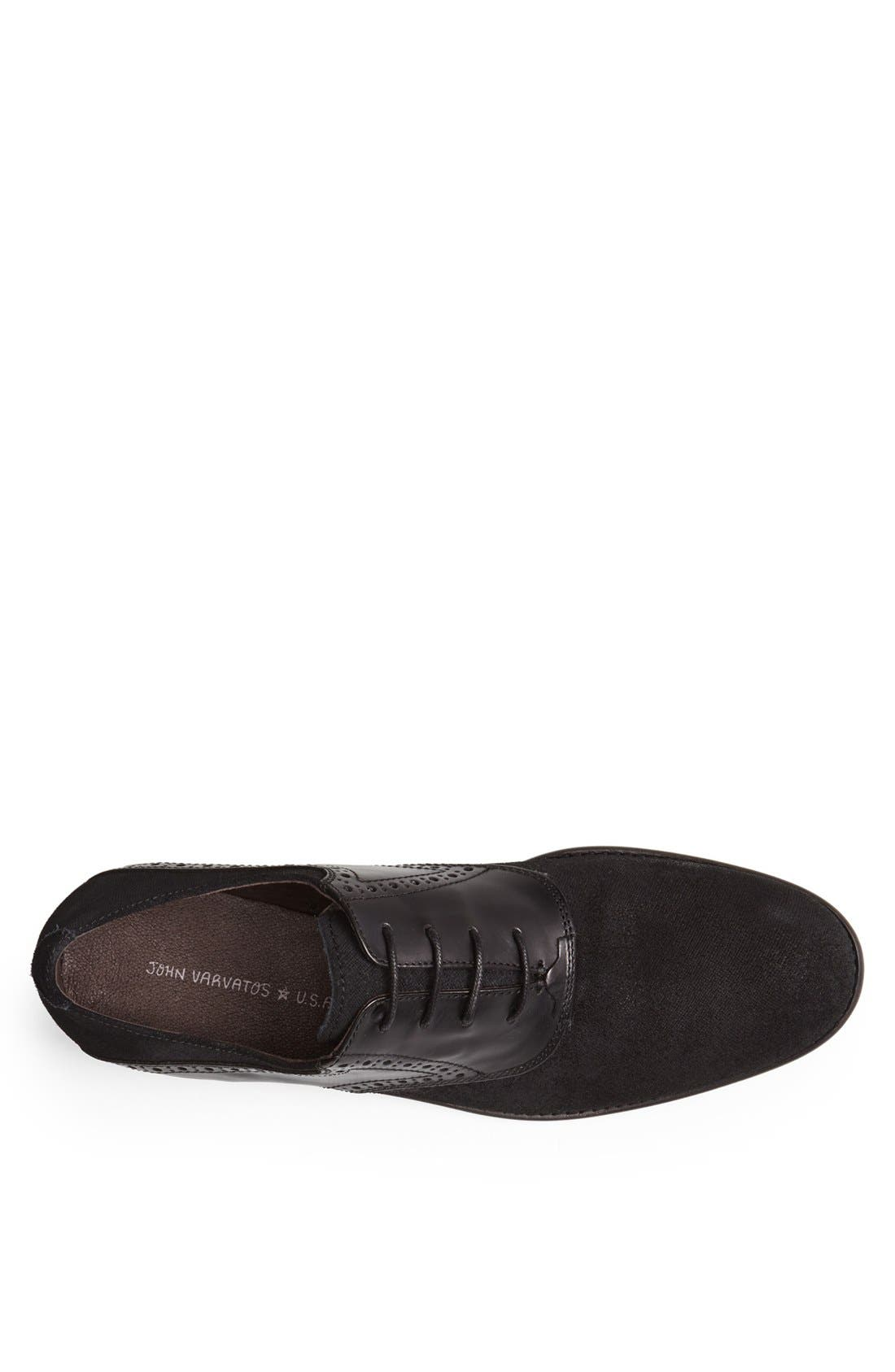 Alternate Image 3  - John Varvatos Star USA 'Sid Buck' Laceless Saddle Shoe