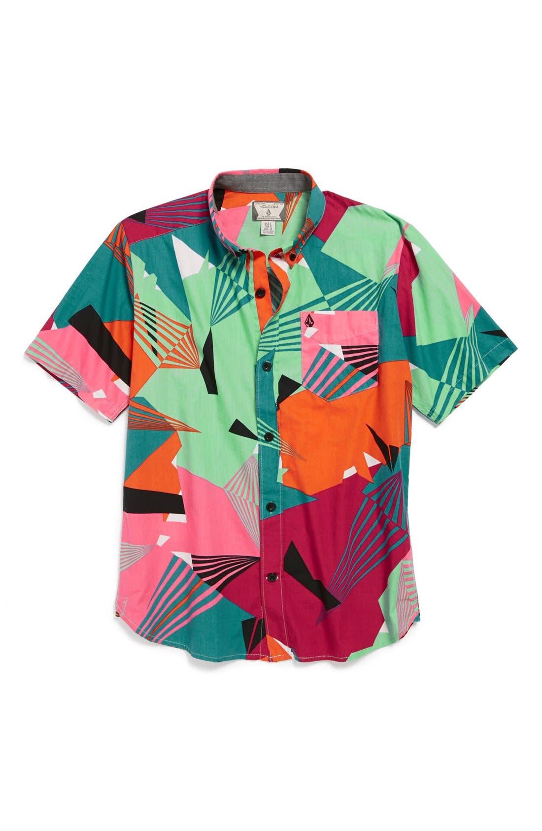 Alternate Image 1 Selected - Volcom 'Why Factor' Shirt (Big Boys)