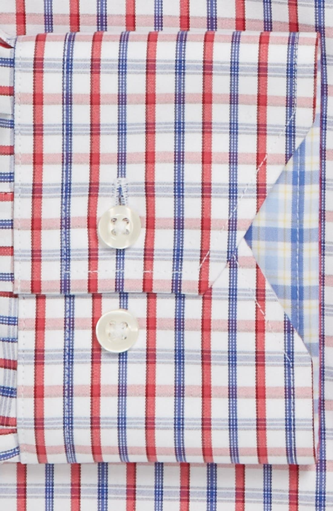 Alternate Image 2  - Lorenzo Uomo Trim Fit Dress Shirt