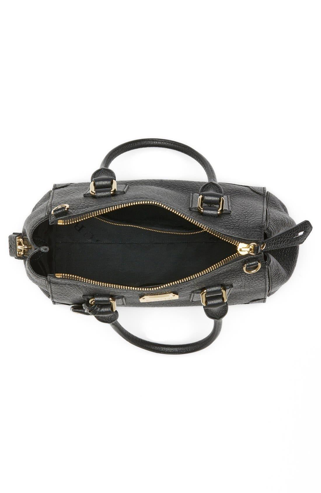 Alternate Image 3  - Burberry 'Gladstone - Small' Leather Satchel