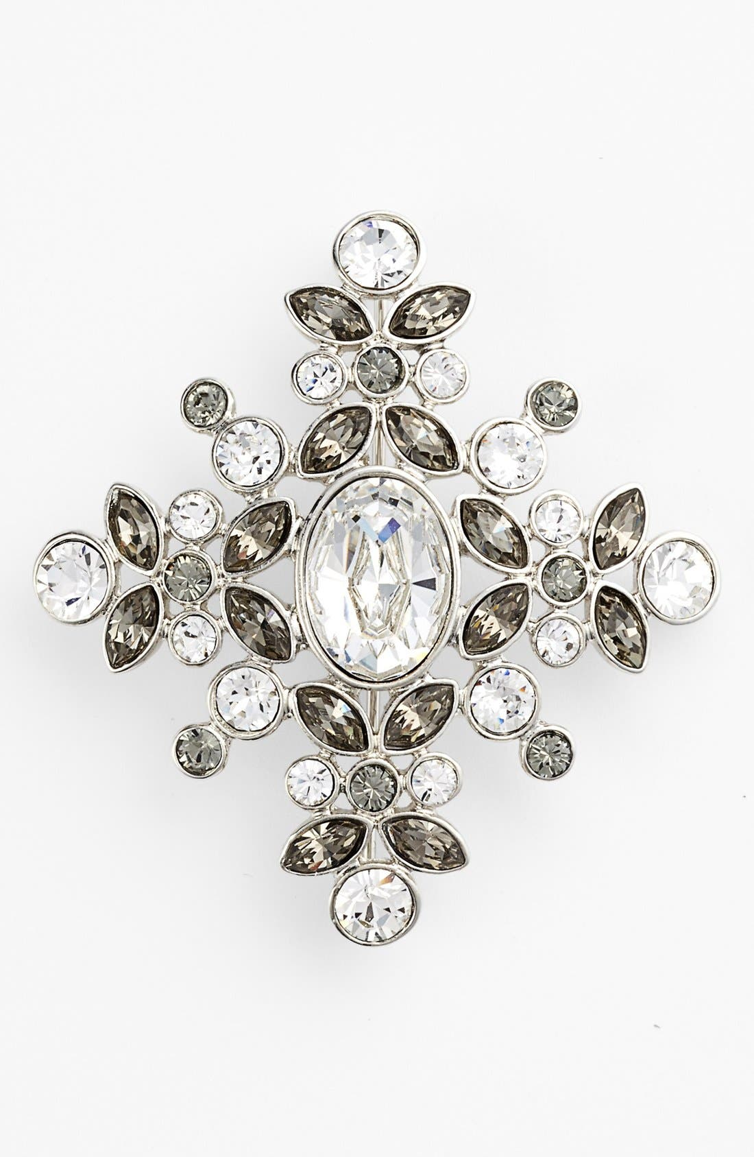 Alternate Image 1 Selected - Givenchy Crystal Cluster Brooch