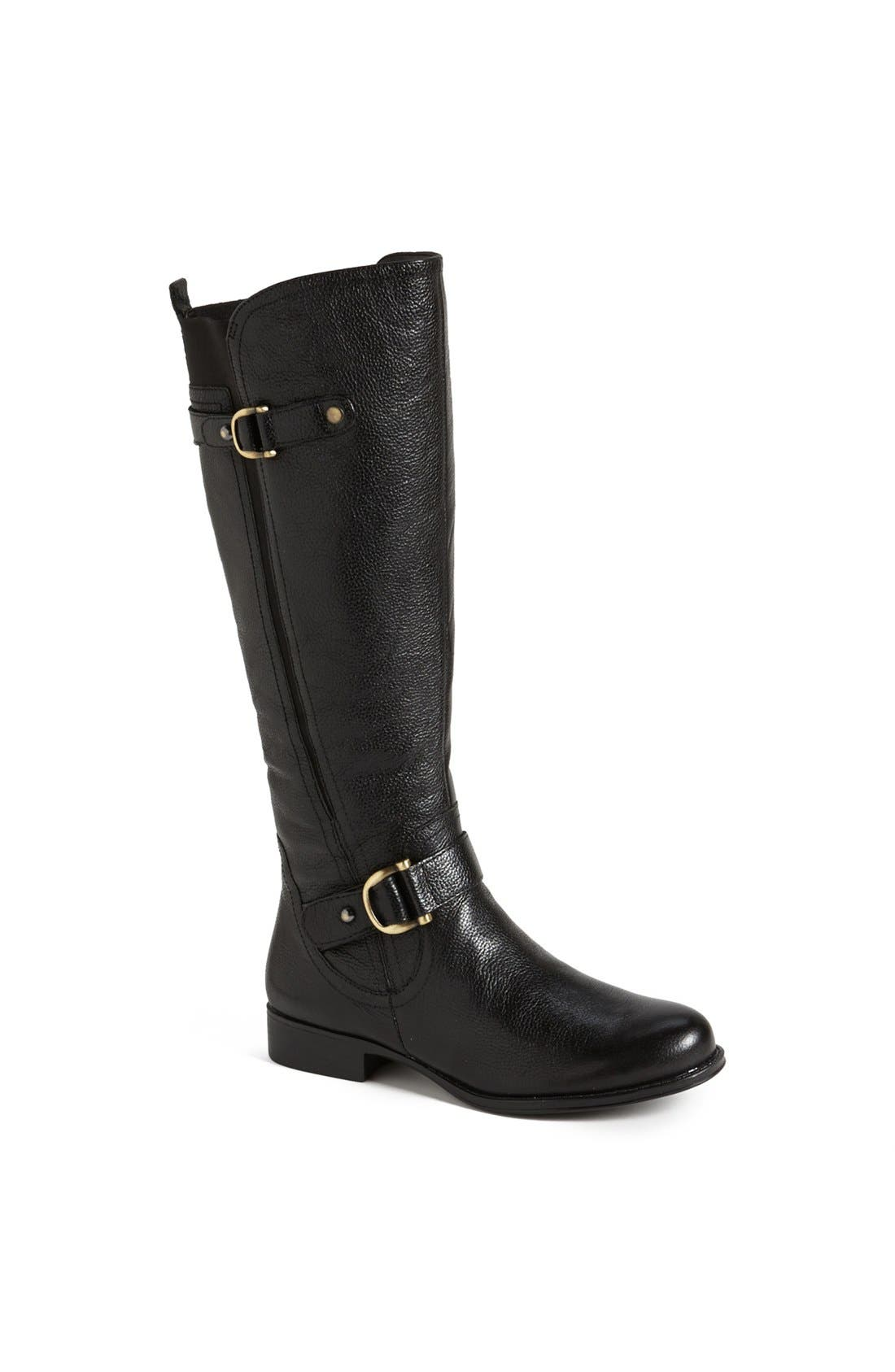 Main Image - Naturalizer 'Jersey' Leather Riding Boot
