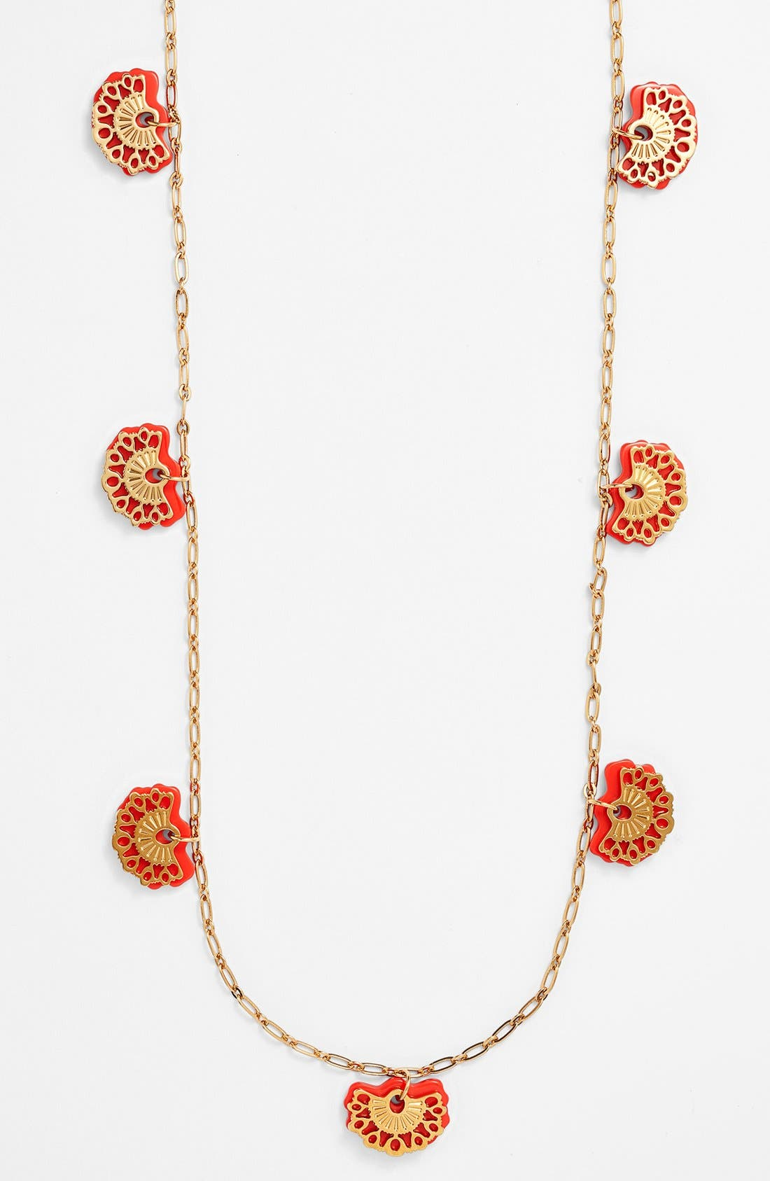 Alternate Image 2  - Tory Burch 'Madura' Long Charm Necklace