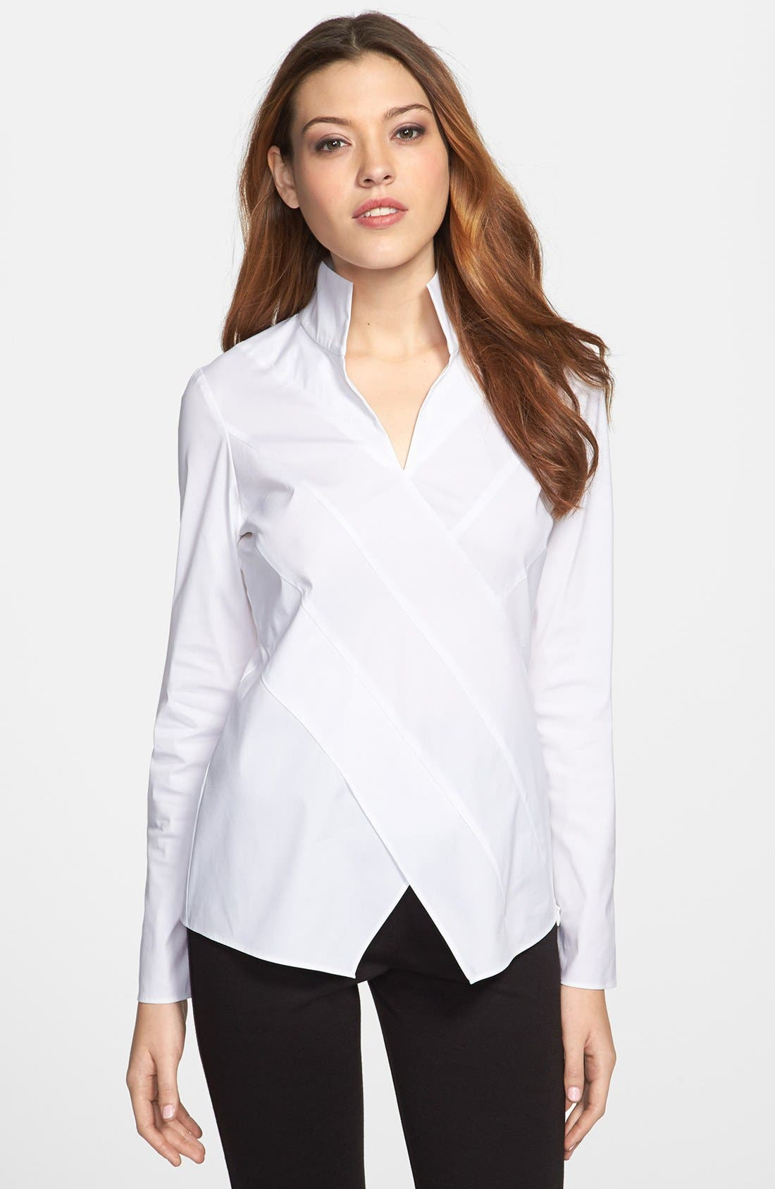 Main Image - Lafayette 148 New York 'Crystal' Blouse