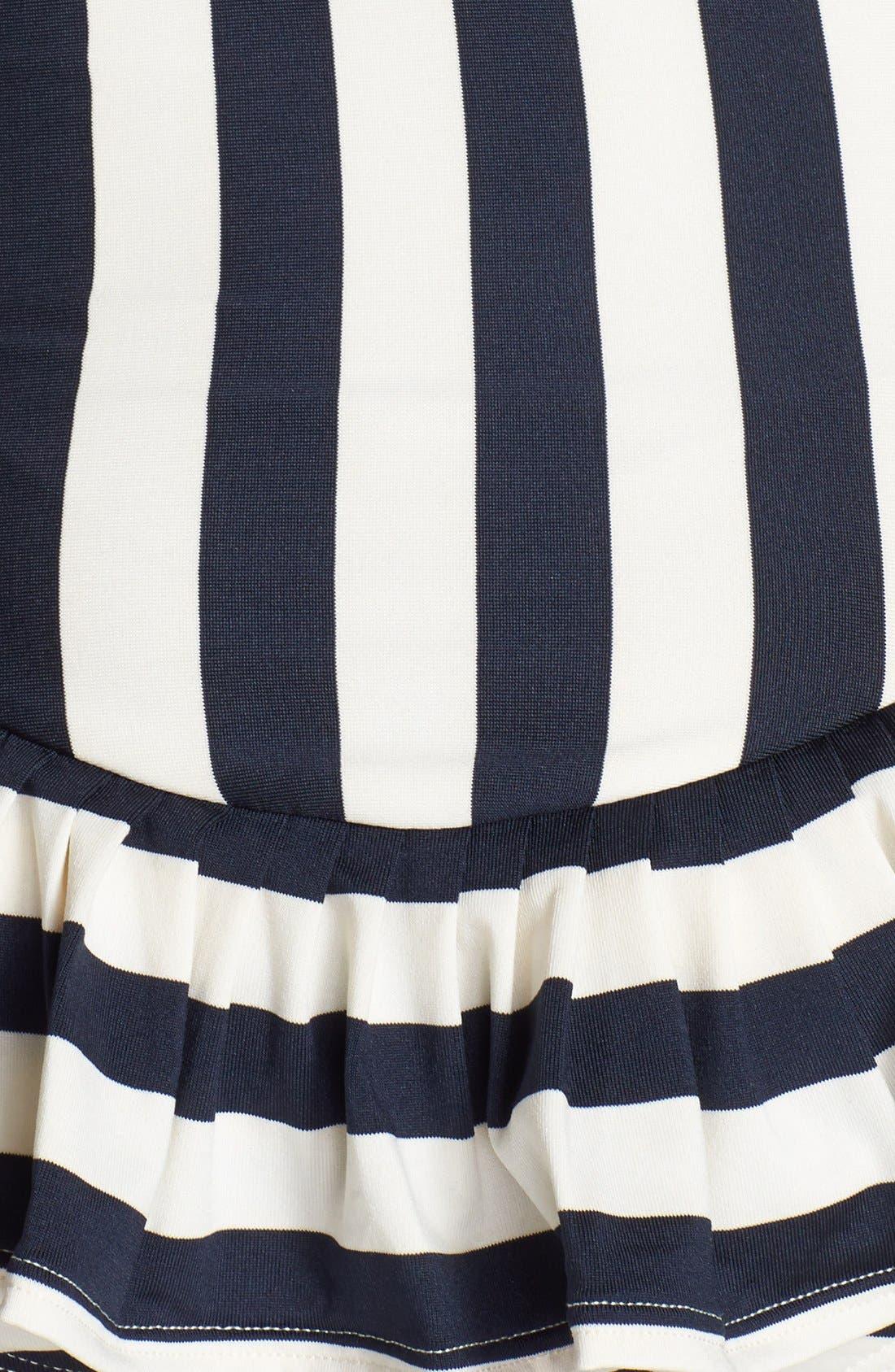 Alternate Image 3  - Juicy Couture Beach 'Boho Stripe' Bandeau Swimdress