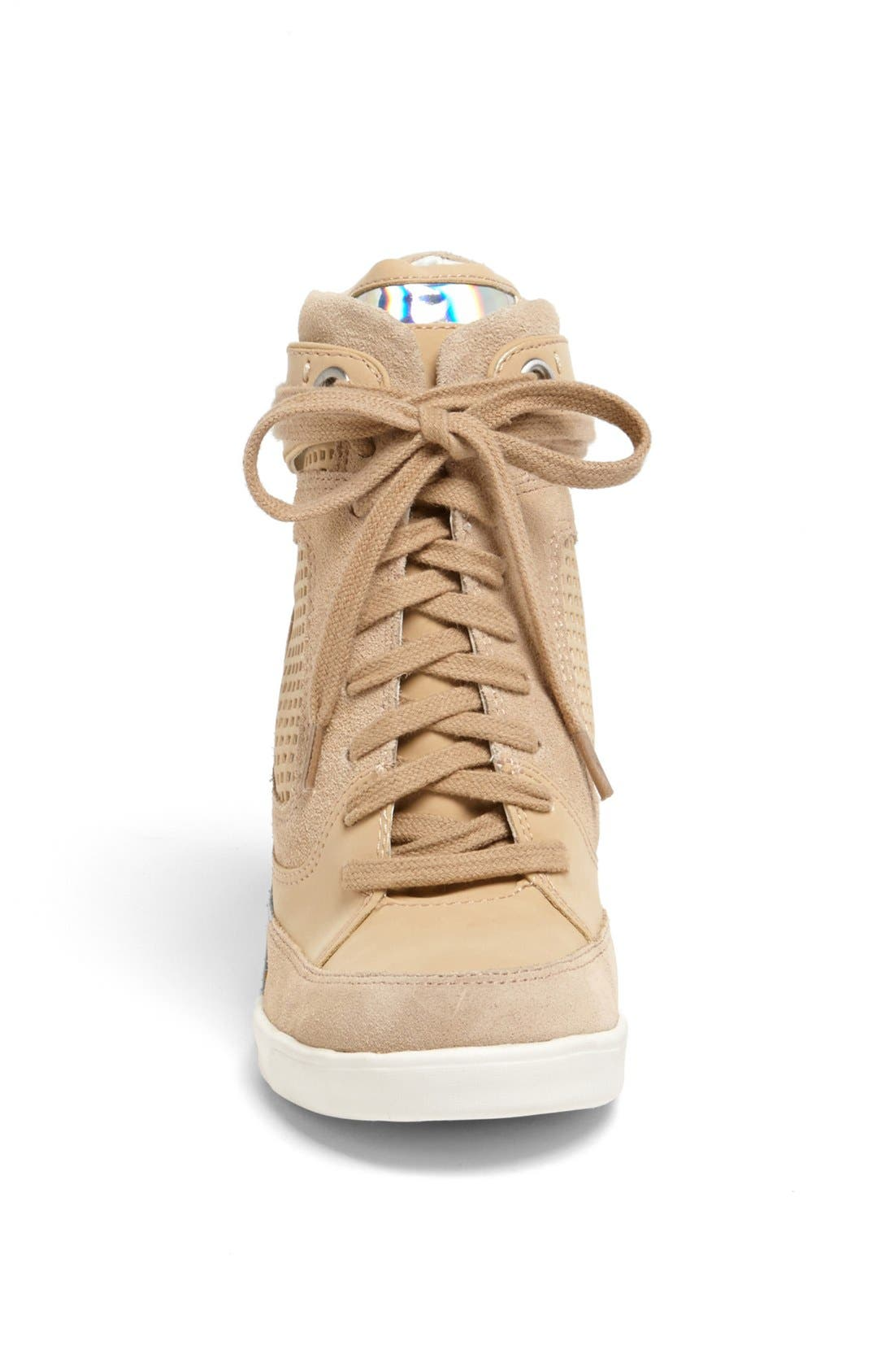 Alternate Image 3  - French Connection 'Marla' High Top Wedge Sneaker