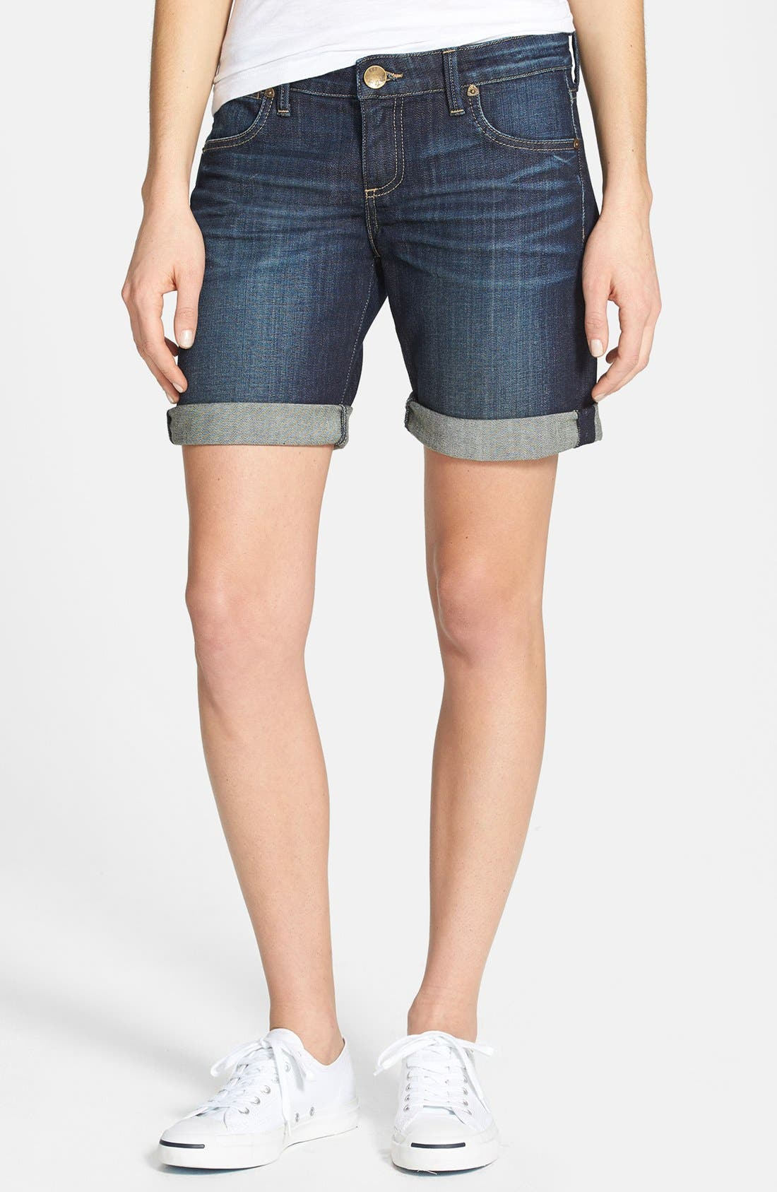 Alternate Image 1 Selected - KUT from the Kloth 'Catherine' Boyfriend Shorts