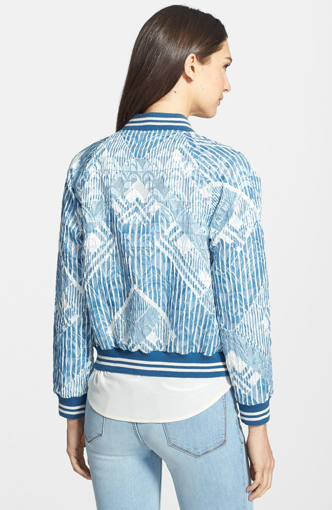 Alternate Image 2  - MARC BY MARC JACOBS 'Matelesse' Print Bomber Jacket