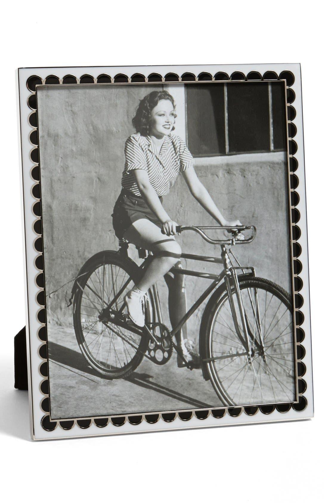 Alternate Image 1 Selected - kate spade new york 'pierrepont place - half dot' frame (8x10)