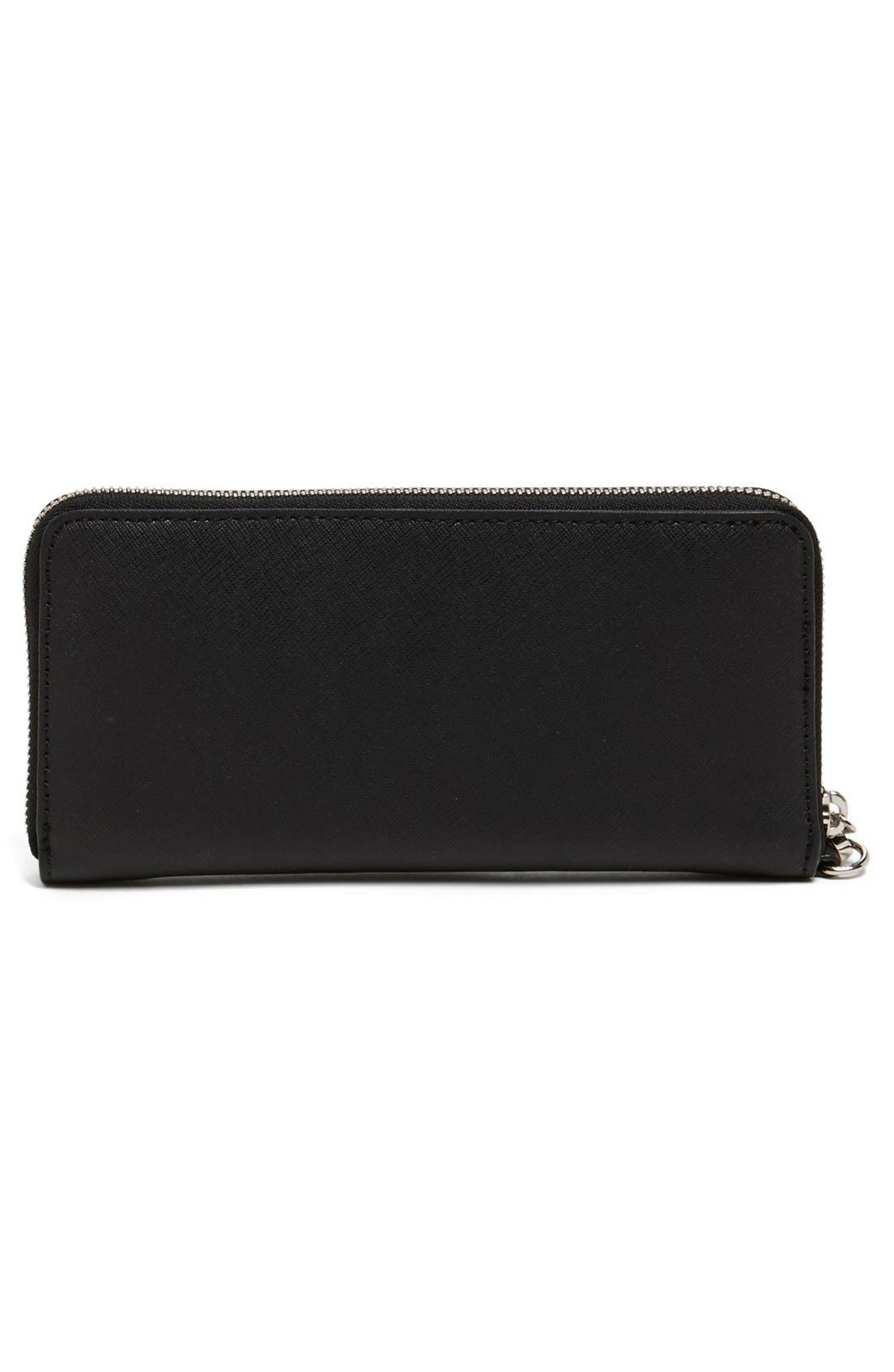 Alternate Image 4  - MICHAEL Michael Kors 'Tech Continental' Leather Wallet