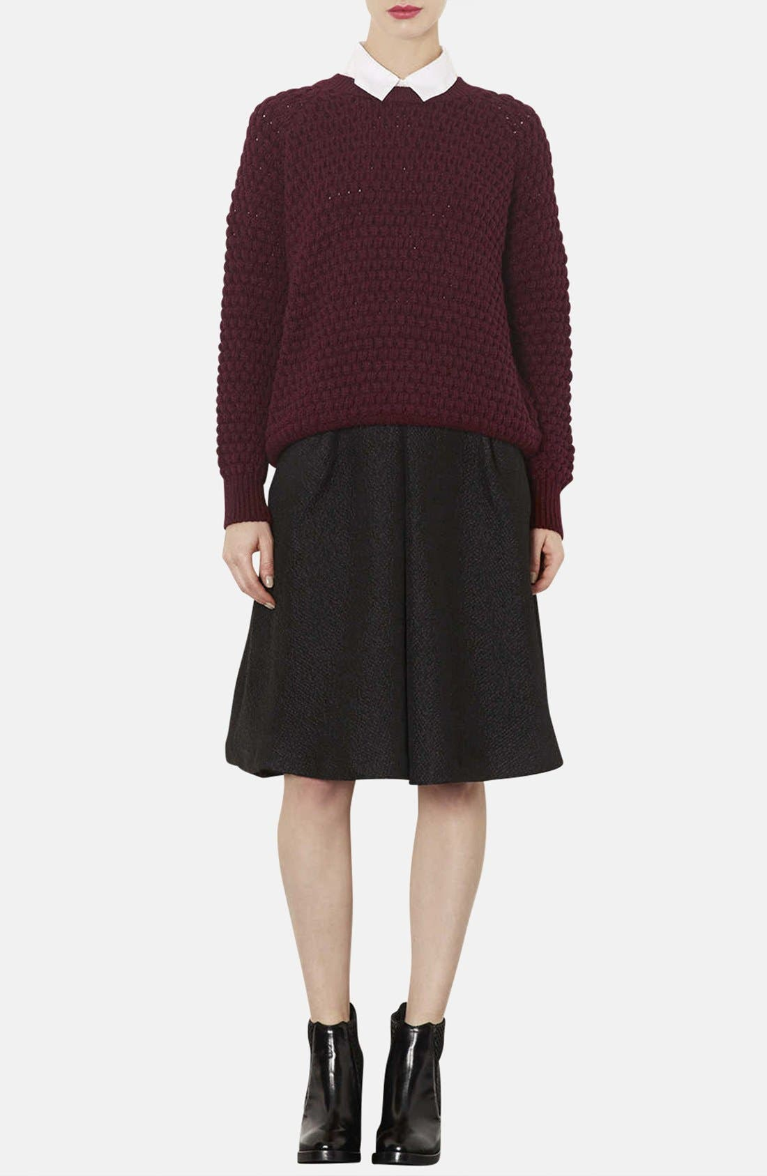 Alternate Image 4  - Topshop Chunky Bobble Knit Sweater