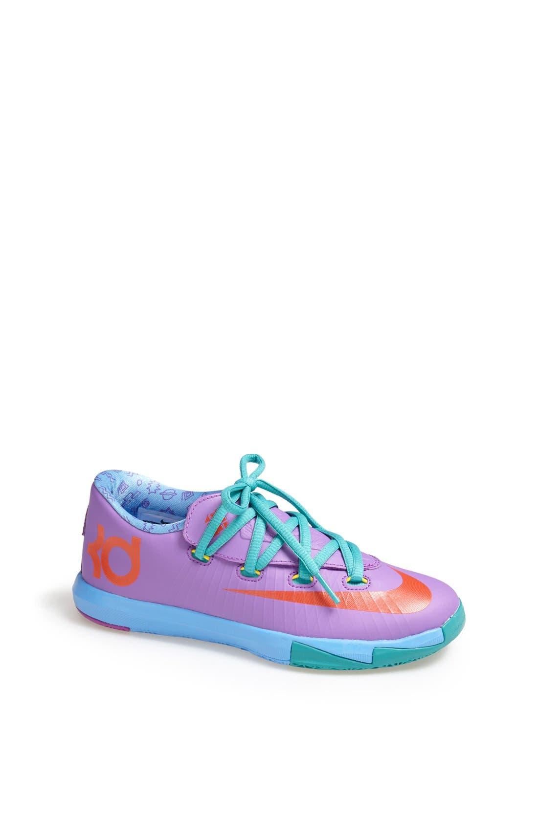 Alternate Image 1 Selected - Nike 'KD VI' Basketball Shoe (Walker, Toddler & Little Kid)